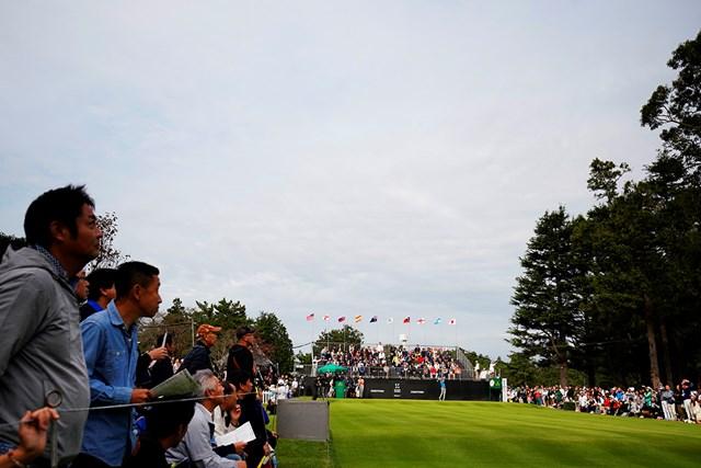 「ZOZOチャンピオンシップ」がアコーディア・ゴルフ習志野カントリークラブで開幕した