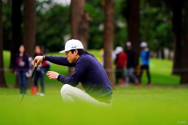 2020年 ZOZOチャンピオンシップ 初日 石川遼 グリーン上でのしぶといプレーを見せた