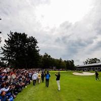 この熱気。男子ゴルフだって、女子には負けない。 2020年 ZOZOチャンピオンシップ 初日 ギャラリー