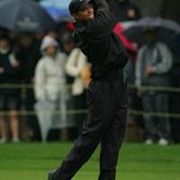 友人のマーク・オメーラが2006年ライダーカップの米国主将に選出されなかったことに対し、「PGAオブ・アメリカ」を批判したタイガー・ウッズ 2004年 ダンロップ・フェニックストーナメント タイガー・ウッズ