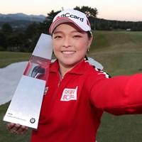 初代優勝者に名前を刻んだジャン・ハナ(Han Myung-Gu/Getty Images) 2019年 BMW女子選手権 最終日 ジャン・ハナ