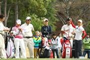 2010年 ヨコハマタイヤゴルフトーナメント PRGRレディスカップ初日 古閑美保、有村智恵、上田桃子
