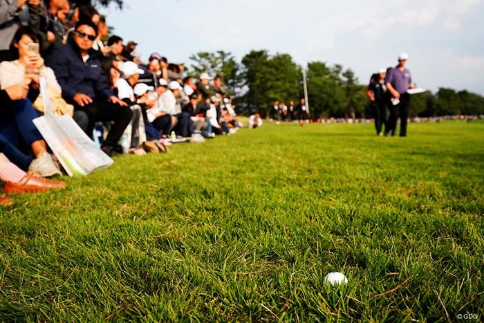 ニアミスボール 2020年 ZOZOチャンピオンシップ 4日目 ボール