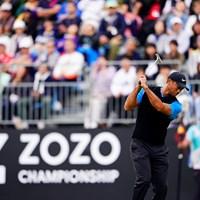 しなるシャフト 2020年 ZOZOチャンピオンシップ 4日目 タイガー・ウッズ