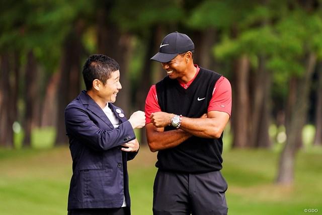 タイガー・ウッズに「来年も戻ってきてほしいな…」と懇願した大会名誉会長の前澤友作氏