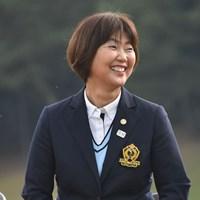 日本女子プロゴルフ協会の小林浩美会長 2019年 NOBUTA GROUP マスターズGCレディース 最終日 小林浩美