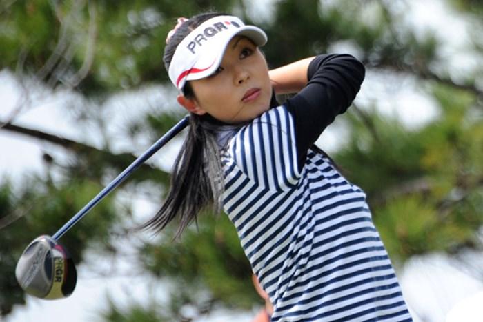 塩田亜飛美 2010年 ヨコハマタイヤゴルフトーナメント PRGRレディスカップ初日 塩田亜飛美