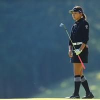 逆光に輝く華 2019年 樋口久子 三菱電機レディスゴルフトーナメント 初日 脇元華