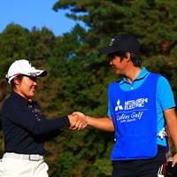 デビュー戦をサポートするのは僕の友達 2019年 樋口久子 三菱電機レディスゴルフトーナメント 初日 古江彩佳