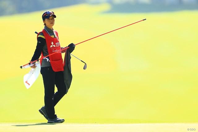 森田ファンよ!どんな形であろうと彼女がゴルフ場にいるのが嬉しいよね。Me too!!