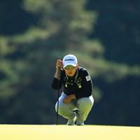 Hole1  par5   バーディ 2019年 樋口久子 三菱電機レディスゴルフトーナメント 初日 申ジエ