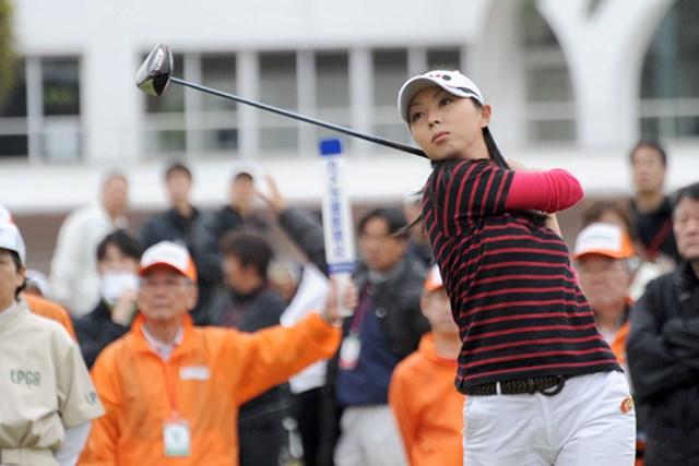 2010年 ヨコハマタイヤゴルフトーナメントPRGRレディスカップ2日目 塩田亜飛美 塩田亜飛美