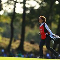 やはり撮っちゃう。 2019年 樋口久子 三菱電機レディスゴルフトーナメント 2日目 森田理香子
