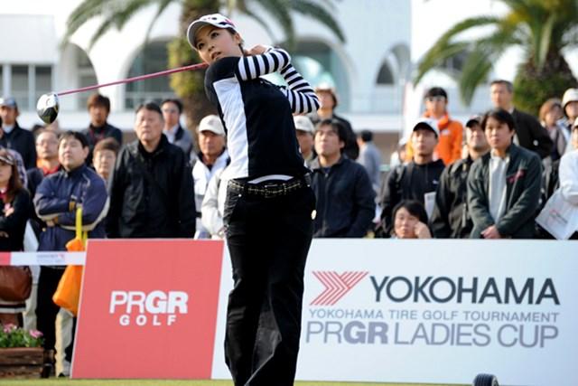 2010年 ヨコハマタイヤゴルフトーナメントPRGRレディスカップ2日目 菊地絵理香 菊地絵理香
