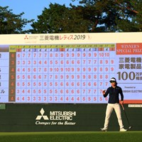 Birdie finish 2019年 樋口久子 三菱電機レディスゴルフトーナメント 2日目 岡山絵里