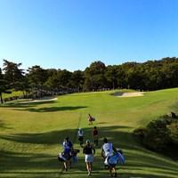 Hole15 par3  for the green 2019年 樋口久子 三菱電機レディスゴルフトーナメント 2日目 小祝さくら