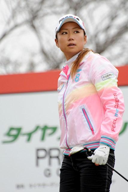 2010年 ヨコハマタイヤゴルフトーナメントPRGRレディスカップ2日目 原江里菜 原江里菜