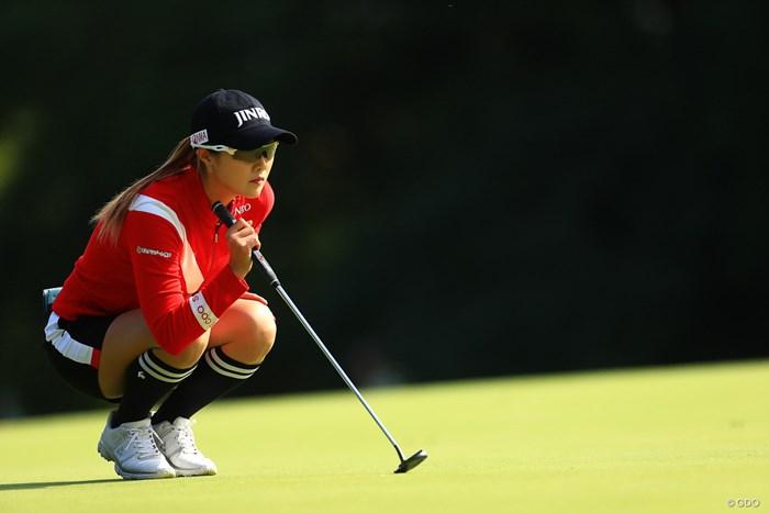 2年ぶりのツアー通算7勝目を飾れるか 2019年 樋口久子 三菱電機レディスゴルフトーナメント 2日目 キム・ハヌル