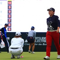 この二人の対決は相変わらず名勝負 2019年 樋口久子 三菱電機レディスゴルフトーナメント 最終日 申ジエ