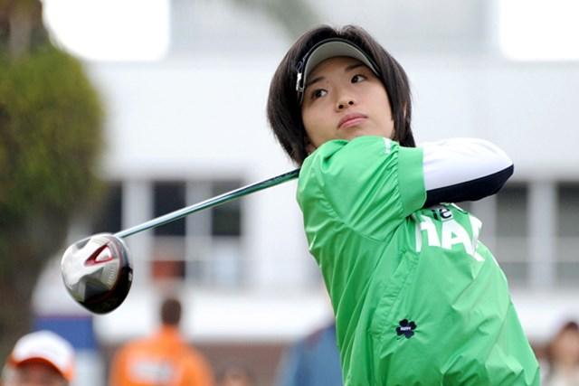 2010年 ヨコハマタイヤゴルフトーナメントPRGRレディスカップ2日目 香山麻央 香山麻央