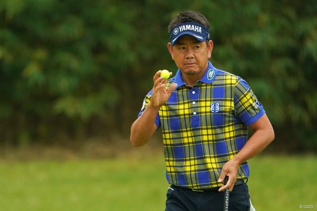 4位タイでフィニッシュした藤田寛之。3年ぶりの最終戦出場に前進した