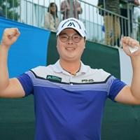 逆転で優勝を飾ったハン・ジュンゴン 2019年 マイナビABCチャンピオンシップ 最終日 ハン・ジュンゴン