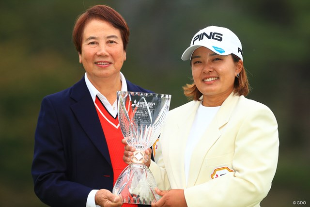今季5勝目を手にした鈴木愛。世界ランクは24位に浮上した