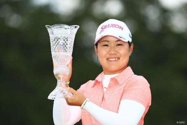 昨年大会で7年ぶりの日本人優勝を飾った畑岡奈紗