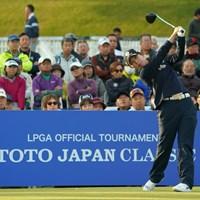 もしかして日本のゴルフ場がお好きとか? 2019年 TOTOジャパンクラシック 初日 キム・ヒョージュ