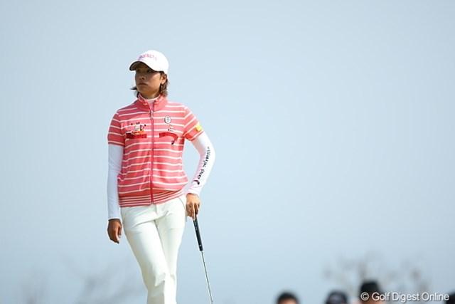 2010年 2010年 ヨコハマタイヤゴルフトーナメントPRGRレディスカップ最終日 森田理香子 2週連続首位スタート。1週間前より立派な戦いを見せた森田理香子の今後に期待!