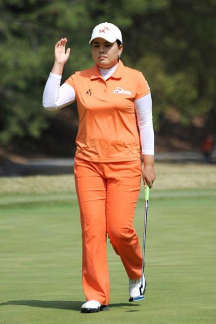 2010年 ヨコハマタイヤゴルフトーナメントPRGRレディスカップ最終日 朴仁妃 朴仁妃