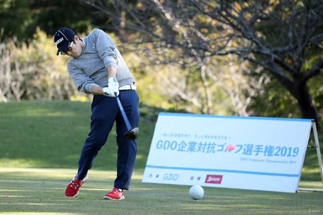 GDO企業対抗ゴルフ選手権は決勝大会を行った