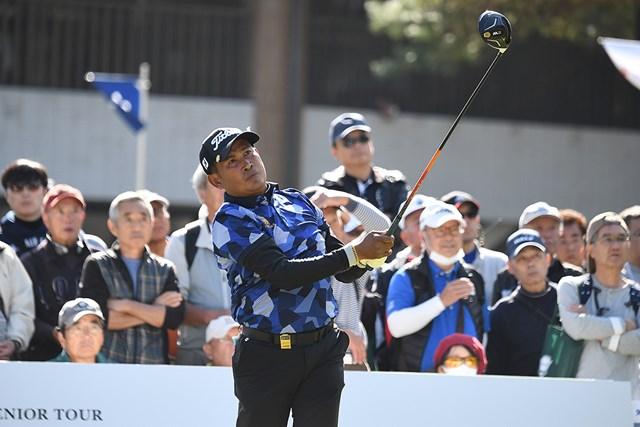 首位に浮上したタワン・ウィラチャン※日本プロゴルフ協会提供