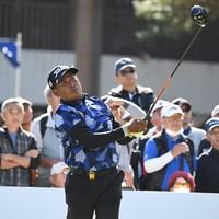 首位に浮上したタワン・ウィラチャン※日本プロゴルフ協会提供 2019年 富士フイルム シニア チャンピオンシップ  2日目 タワン・ウィラチャン