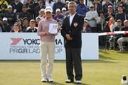 2010年 ヨコハマタイヤゴルフトーナメントPRGRレディスカップ最終日 永井奈都