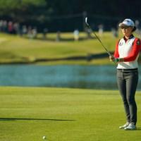 2日間、安定感あるゴルフを展開。5打差の大逆転はあるか。 2019年 TOTOジャパンクラシック 2日目 ミンジー・リー