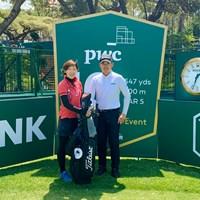 今週は南アフリカが舞台。賞金総額700万ドルのビッグイベントです 2019年 ネッドバンクゴルフチャレンジ hosted by ゲーリー・プレーヤー 事前 川村昌弘