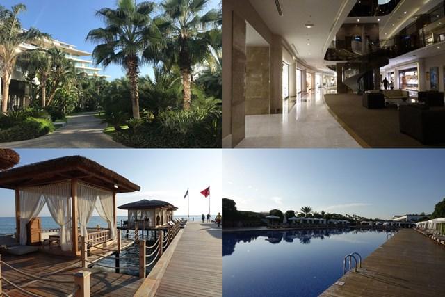 プライベートビーチが広がる南国ムードを十分に味わえるホテル