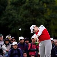 真上 2019年 伊藤園レディスゴルフトーナメント 初日 申ジエ
