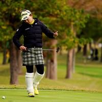 先取りコーディネート 2019年 伊藤園レディスゴルフトーナメント 初日 有村智恵