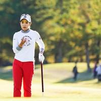 大江香織が首位で最終日を迎える 2019年 伊藤園レディスゴルフトーナメント 2日目 大江香織