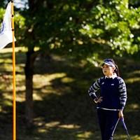 秋のクールビューティーコーデ 2019年 伊藤園レディスゴルフトーナメント 2日目 青木瀬令奈