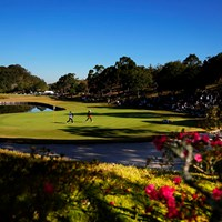 華のあるゴルフ場 2019年 伊藤園レディスゴルフトーナメント 2日目 7H