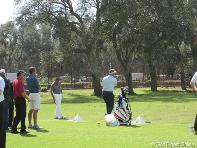 2010ハッサンIIゴルフトロフィー プロアマ混合のイベントだが、もちろんダレン・クラークら世界の名選手も参戦している