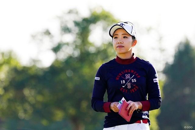 2019年 伊藤園レディスゴルフトーナメント 最終日 大江香織 大江香織が最後の試合を終えた