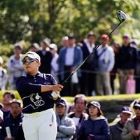 追われる立場から追う立場に一転した申ジエ 2019年 伊藤園レディスゴルフトーナメント 最終日 申ジエ