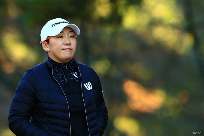 申ジエは韓国でのルーキーイヤー以来になる平均ストローク60台を目指す 2019年 大王製紙エリエールレディスオープン 初日 申ジエ