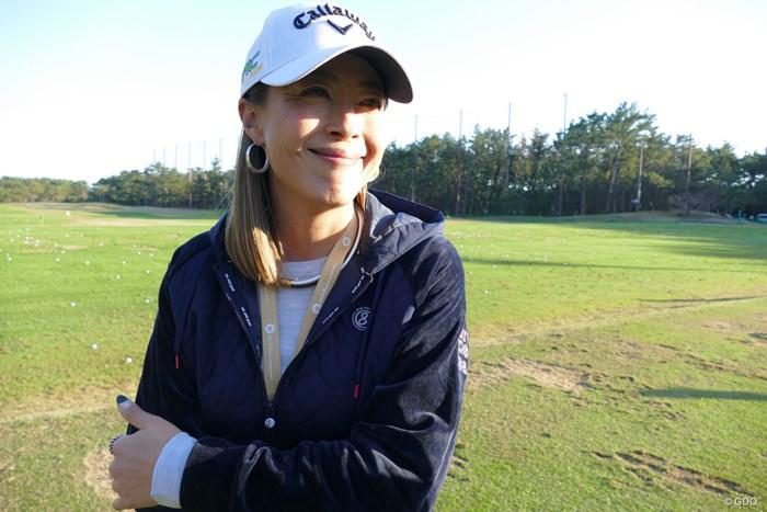 下村真由美はゴルファーからレーサーへ華麗なる転身 2019年 ダンロップフェニックストーナメント 初日 下村真由美