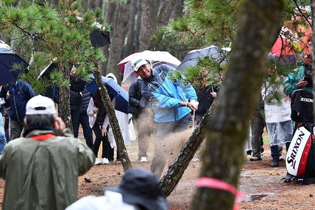 1番で松林につかまって「9」を叩いた松山英樹