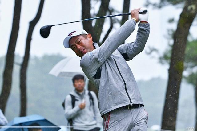 首位タイに浮上して週末に進んだ池田勇太